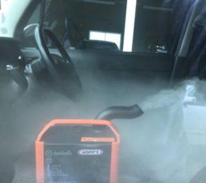 車内の脱臭